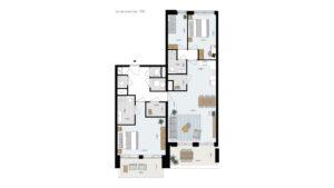Wonen-in-Waterfront-Kop-van-de-Bakens-penthouse-Bnr-105
