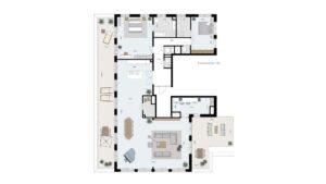 Wonen-in-Waterfront-Kop-van-de-Bakens-penthouse-Bnr-106