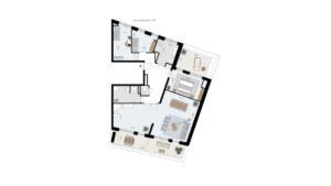 Wonen-in-Waterfront-Kop-van-de-Bakens-penthouse-Bnr-124