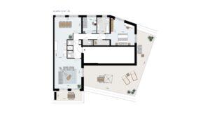 Wonen-in-Waterfront-Kop-van-de-Bakens-penthouse-Bnr-125
