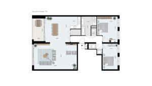 Wonen-in-Waterfront-Kop-van-de-Bakens-penthouse-Bnr-70