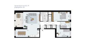 Wonen-in-Waterfront-Kop-van-de-Bakens-penthouse-Bnr-79